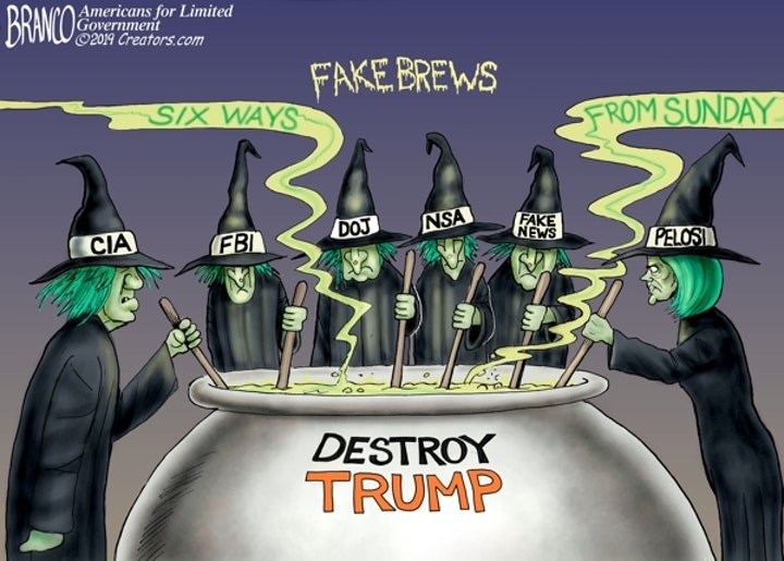 branco destroy trump witches intelligence