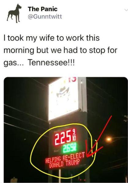 gasoline re-elect trump.JPG