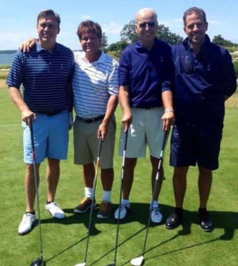 joe hunter biden golf.JPG