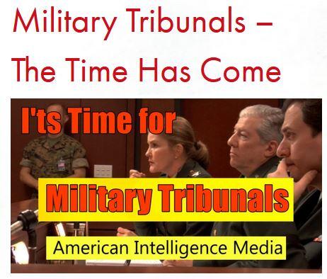 military tribunals AIM