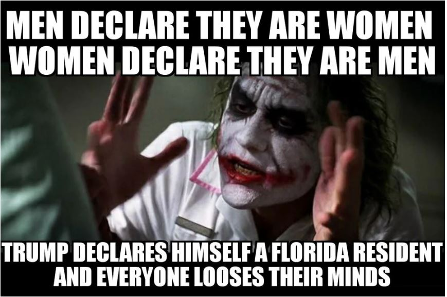joker trump moves to florida.JPG