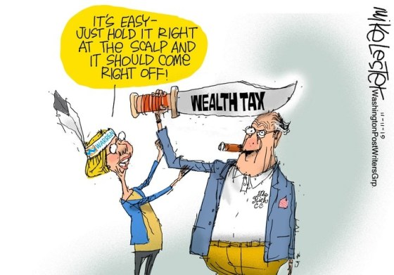 warren wealth tax