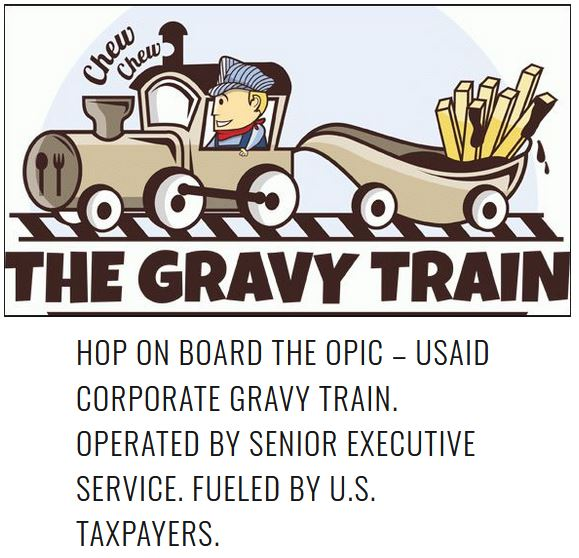 gravy train opic usaid.JPG