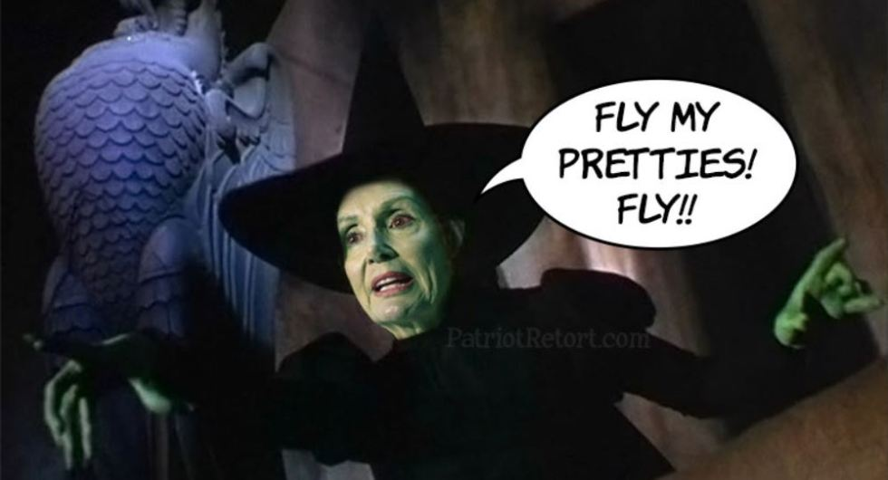 pelosi witch