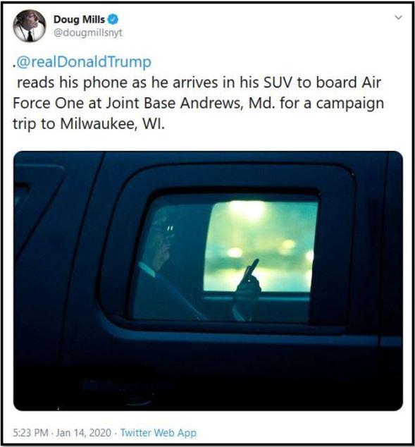 trump beast phone