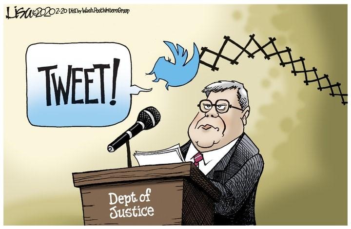 barr trump tweet