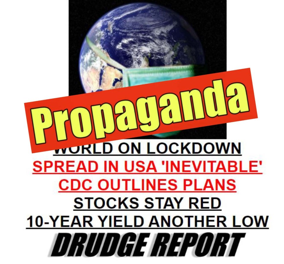 corona virus propaganda drudge