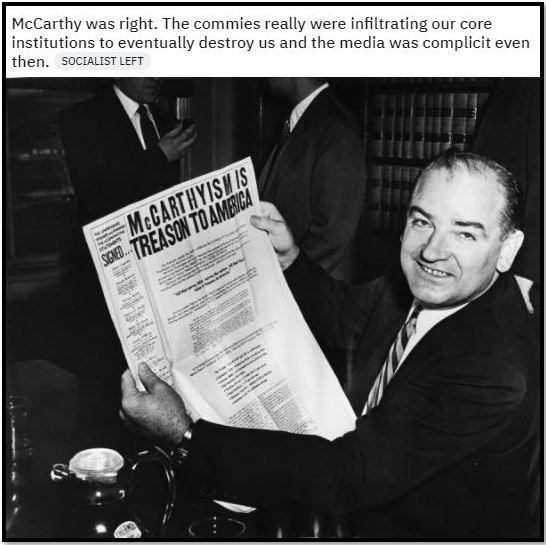 mccarthy communism