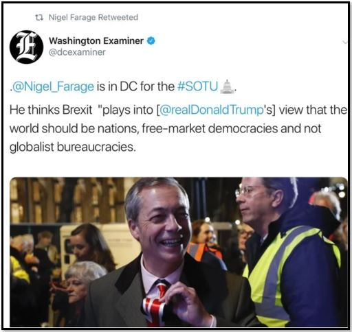 nigel farage at sotu