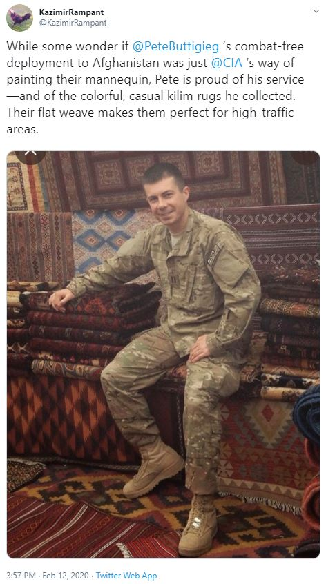 pete in uniform