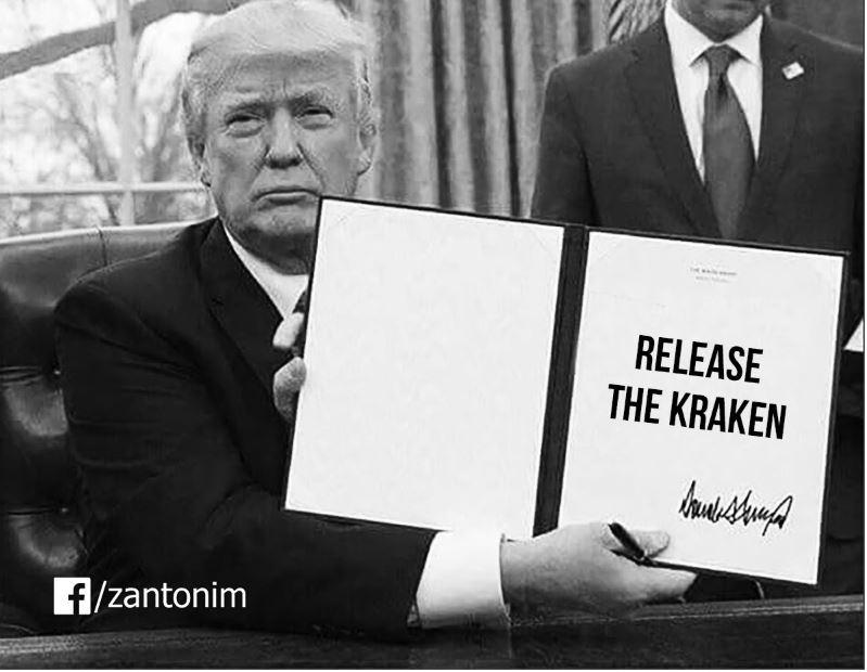 release kraken trump