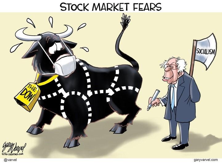 socialism bernie stock market
