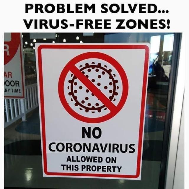 corona free zone