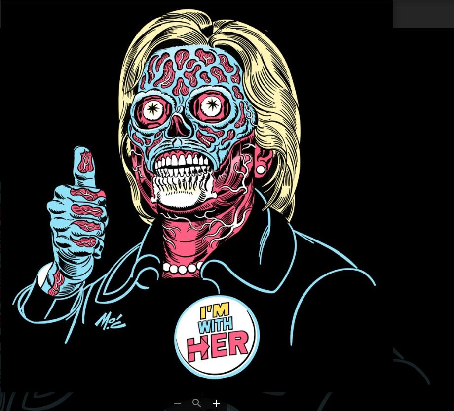 hillary clinton skeleton