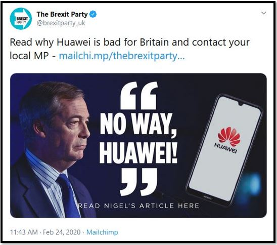 huawei brexit