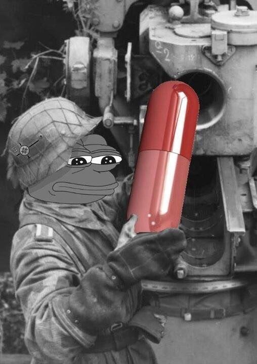 red pill pepe