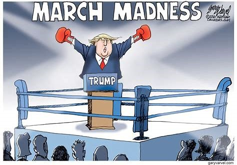 trump march madness