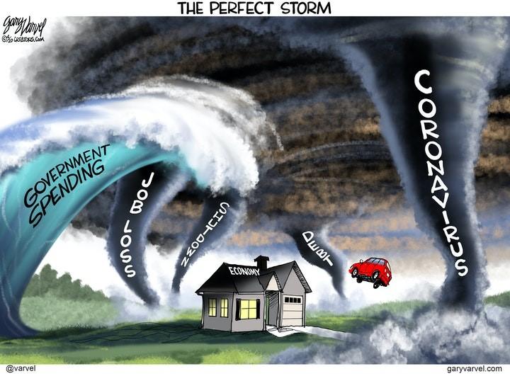 coronavirus storm