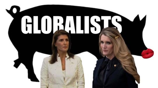 Globalist pigs Haley Loeffler