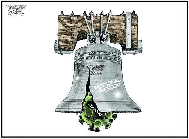 liberty bell coronavirus