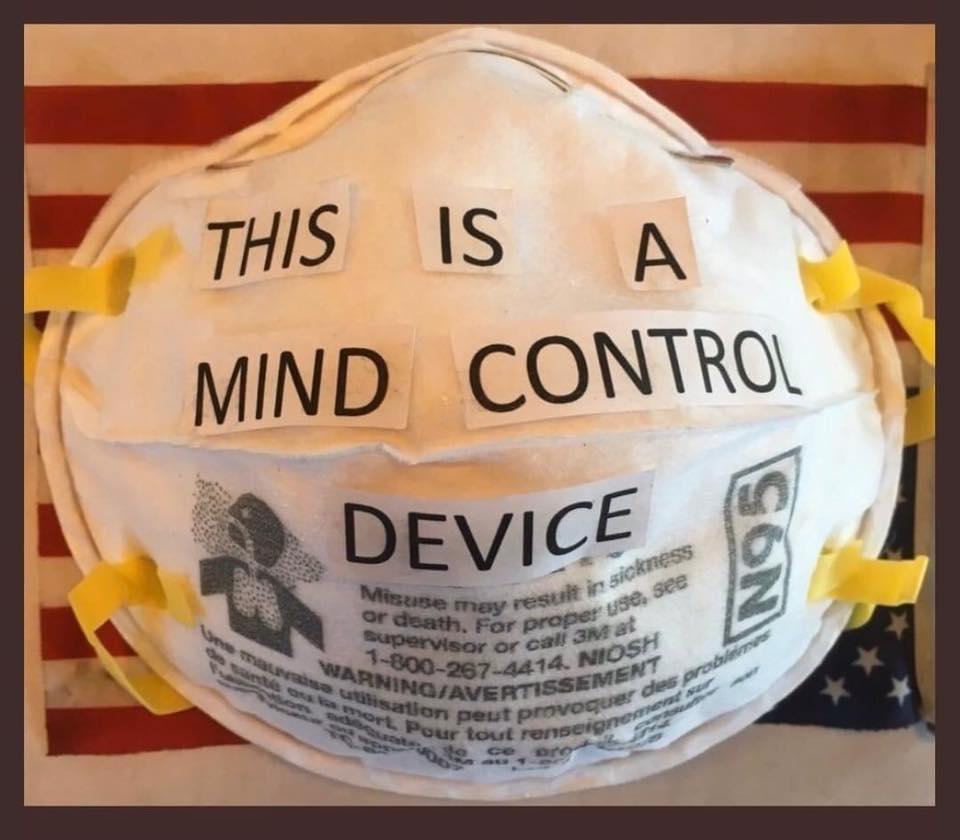 mind control mask corona