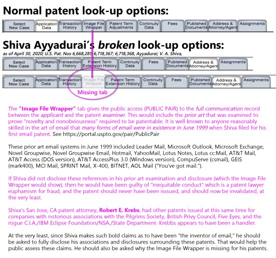 shiva-ayyadurai-broken-uspto-pair-lookup