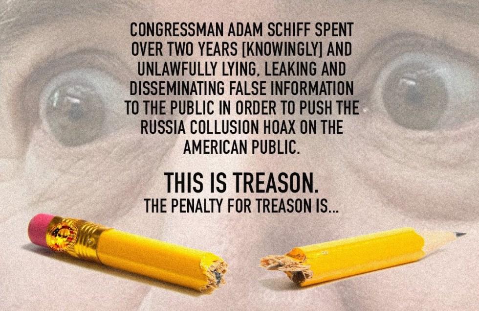 adam schiff treason