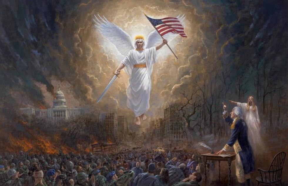 america freedom angel