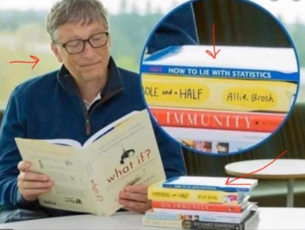 bill gates lies