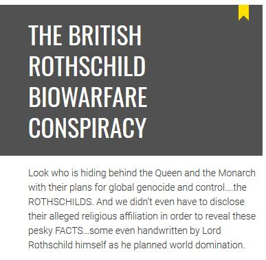 british rothschild conspiracy