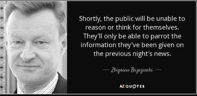 brzezinski quote