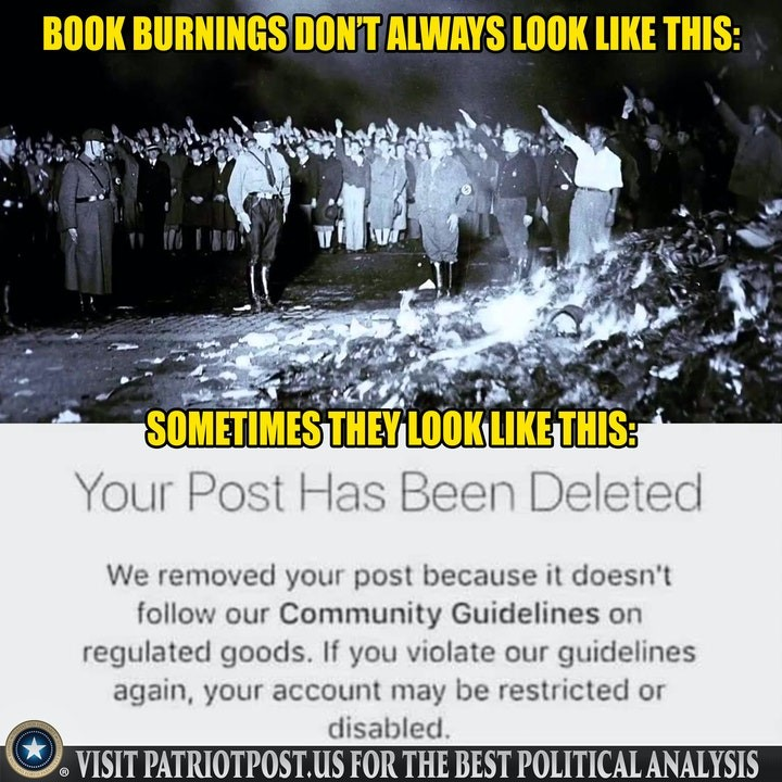 censorship book burning