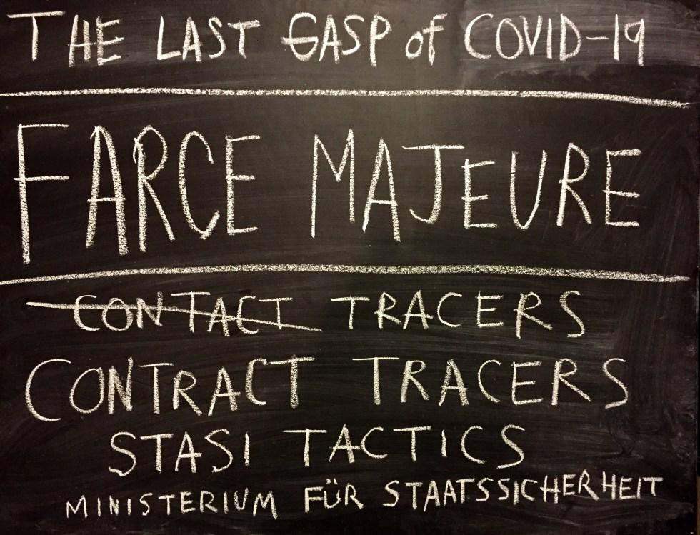 chalk corona contact tracer