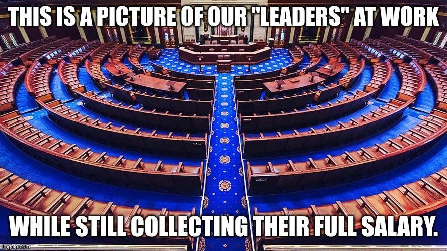 congress not at work