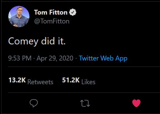 fitton comey did it