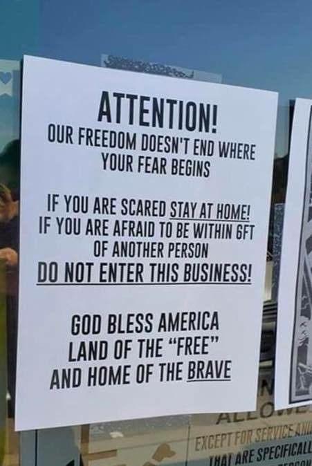 freedom fear