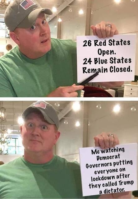 open states corona
