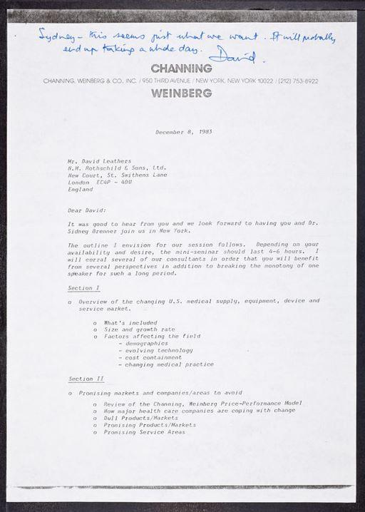 rothschild letter 19