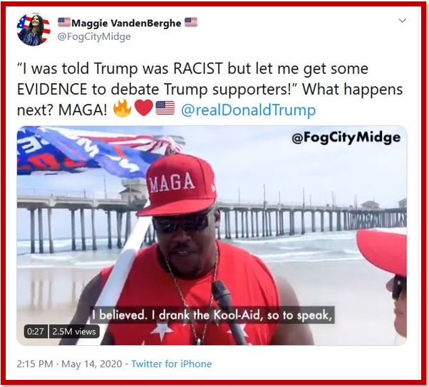 trump supporter maga