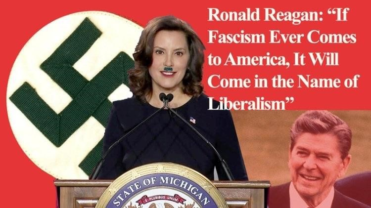 whitmer hilter fascism