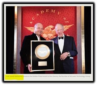 Ron Dennis, Lord Jacob Rothschild