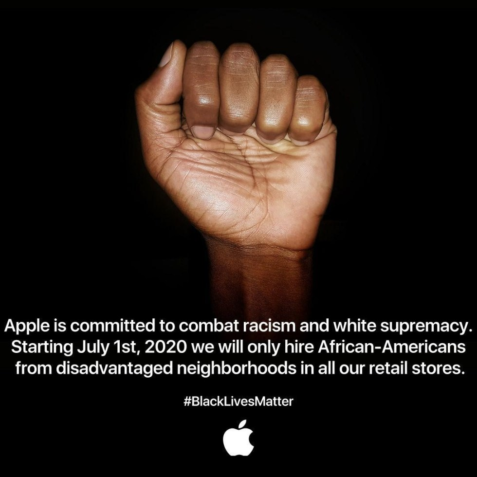 apple blm real