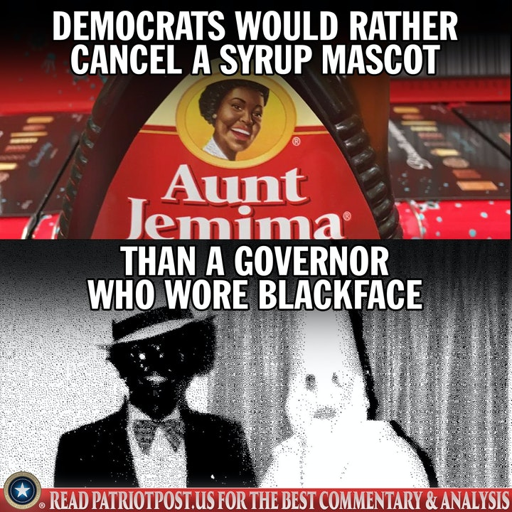aunt jemima black face