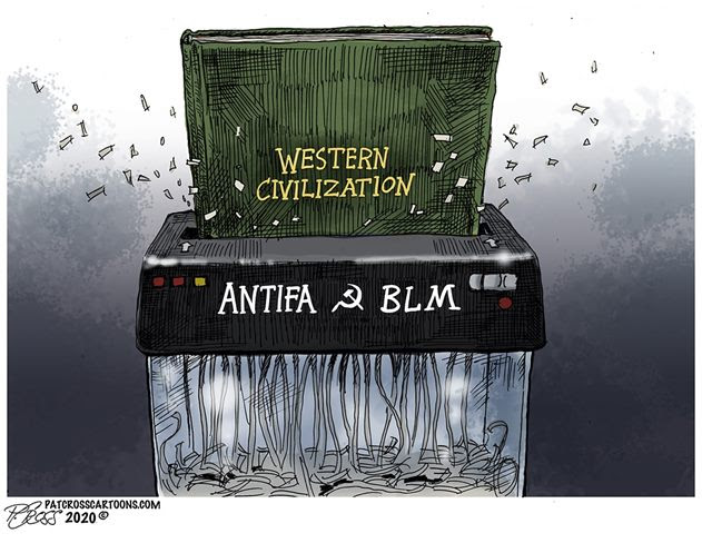 blm western civilization