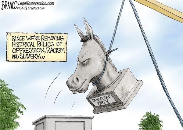 branco democrat statue