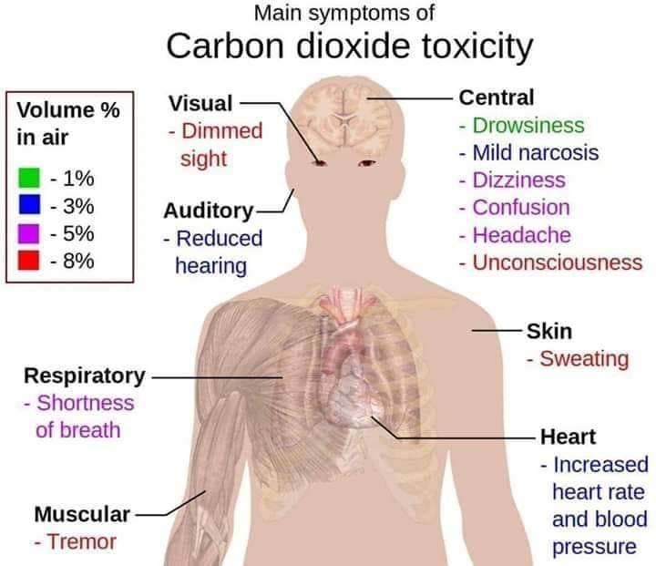 carbon dioxide toxicity