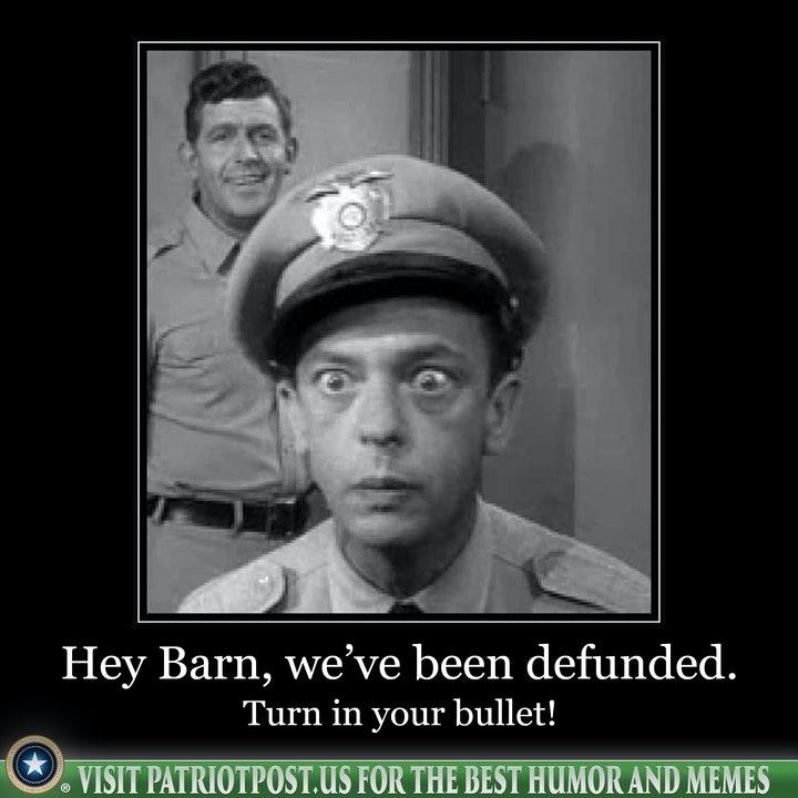 defund police barney fife
