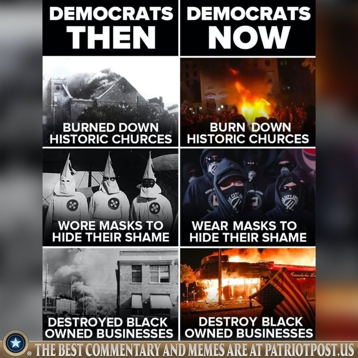 democrats then now