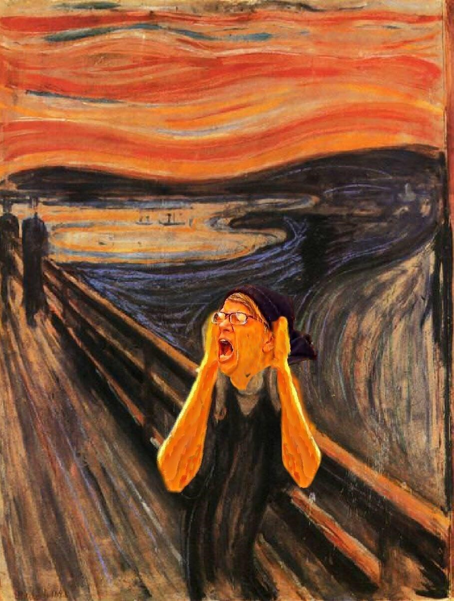liberal democrat scream