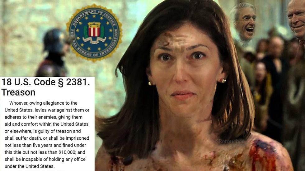 lisa page treason